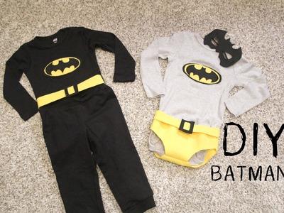 DIY Cómo hacer disfraz de BATMAN para niños