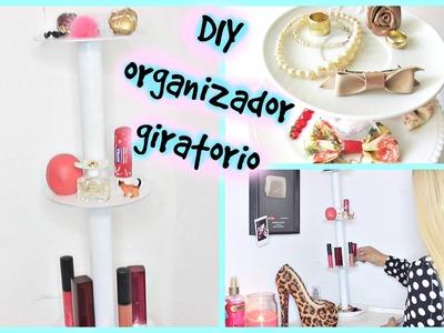 DIY organizador giratorio