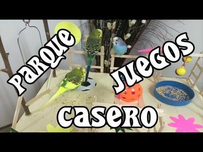 DIY : Parque de juegos casero para Periquitos