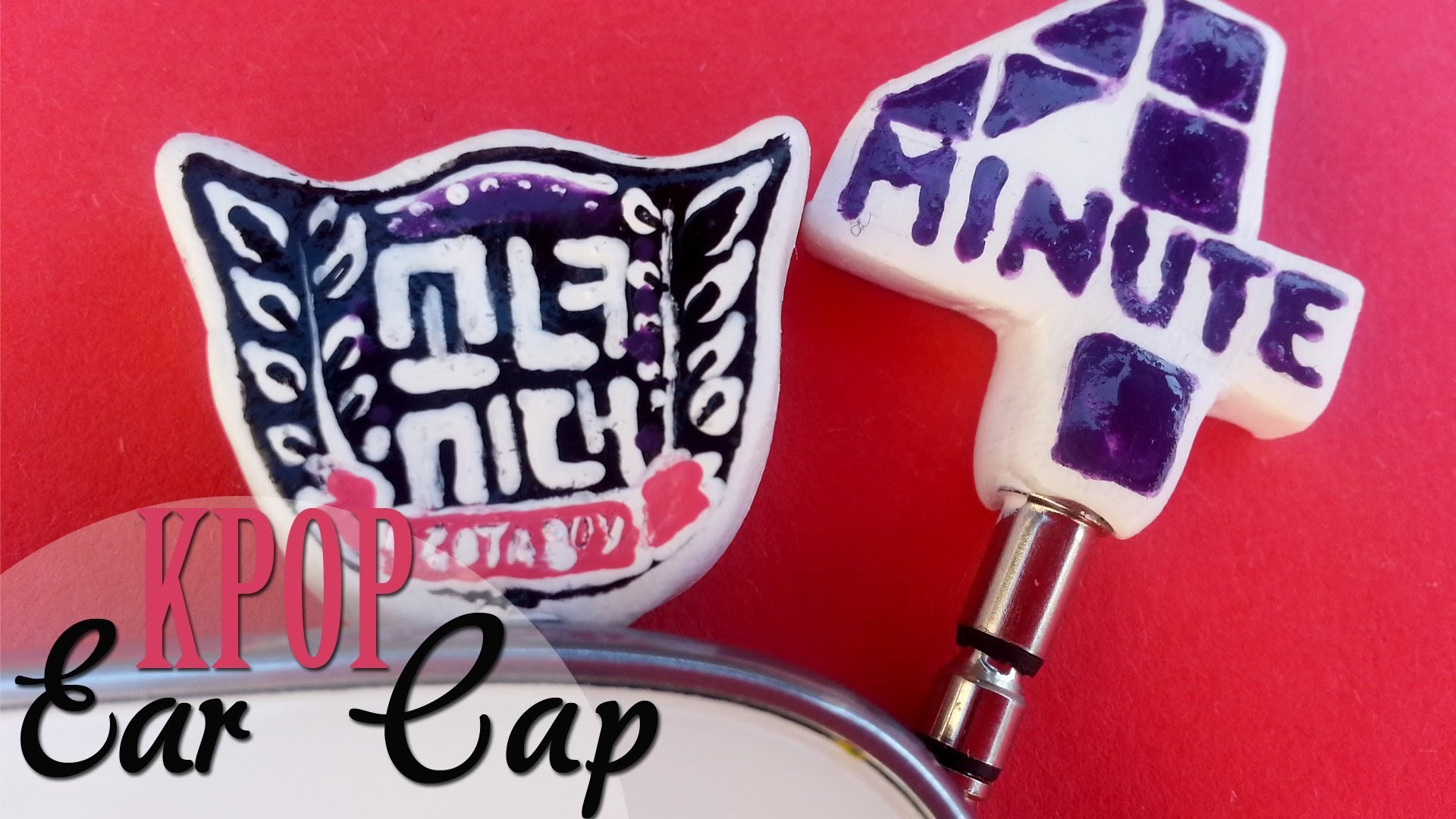 DIY: Tapa antipolvo Kpop. Kpop Ear Cap -SNSD & 4MINUTE-