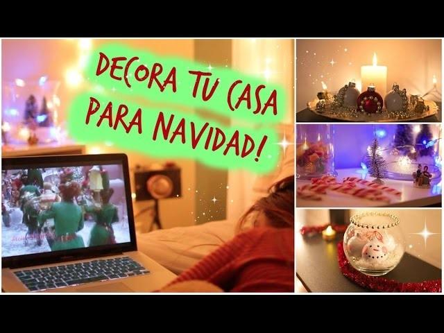 HAZ LAS MEJORES DECORACIONES PARA NAVIDAD!♥ | VIKKICLOE