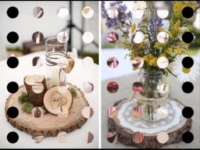 Ideas para decorar tu Boda (Centros de Mesa)