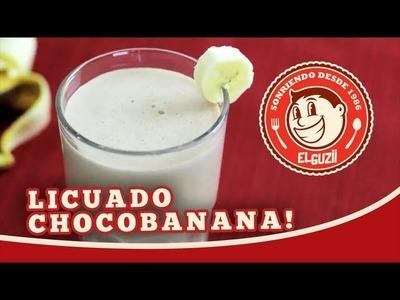 Licuado de Plátano (con Chocolate) - El Guzii