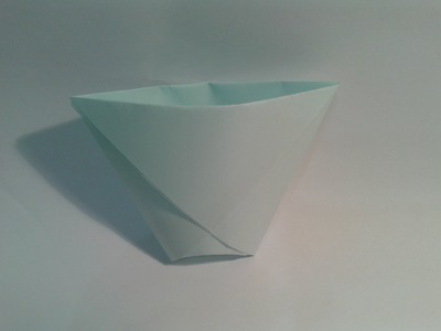 Origami para principiantes: #4 Como hacer un vaso de papel facil