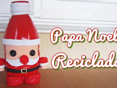 Papa Noel Reciclado (Manualidad 154)