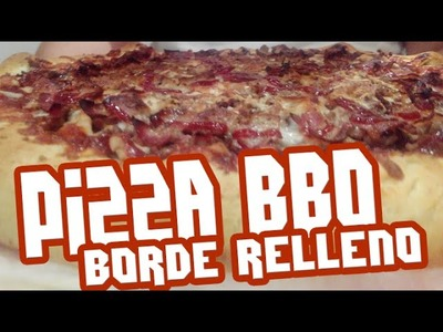 Pizza Barbacoa con Borde Relleno Hacendado en Español | TeamRandomPlay