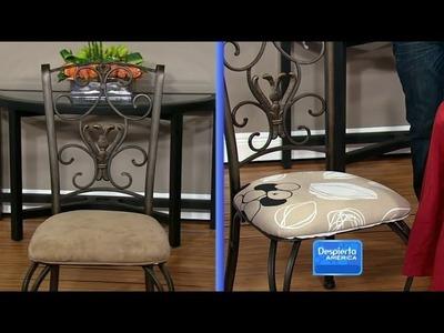 Tapiza tus sillas con Martin Amado Parte 2