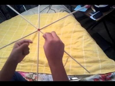 Tutorial como hacer una culebrina (papalote) - pedrogo