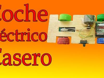 Cómo Hacer Un Coche Eléctrico Casero (muy fácil de hacer)