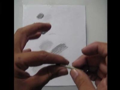 Material para dibujar con lápiz y carbón - taller de arte y dibujo,