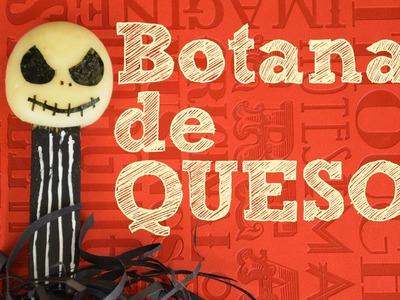 Botanas de QUESO con cara de Jack FACIL | Cheesepops en para Halloween o día de muertos