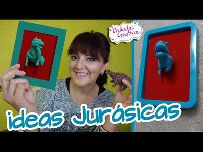 Chuladas Creativas :: Ideas Jurasícas :: Decora todo con Dinosaurios :: Sammily Manualidades