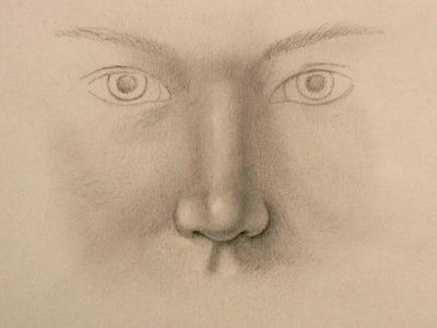 Cómo dibujar una nariz realista - Arte Divierte.
