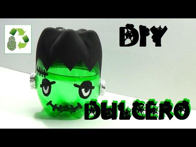 127. DIY DULCERO HALLOWEEN (RECICLAJE DE BOTELLAS DE PLASTICO)