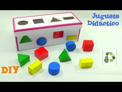 174. DIY JUGUETE DIDACTICO (RECICLAJE DE CARTÓN)