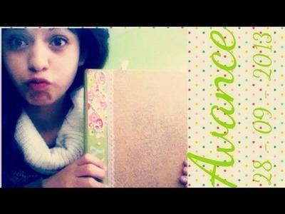 Avances Smash Book Verde ♥ Green Smash Book Advance