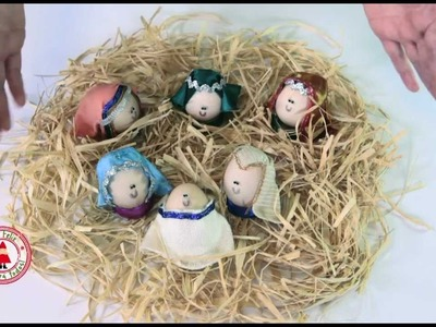 ¡Te Propongo Que Hagas Un Pesebre Con Huevos!