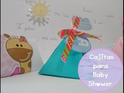 Cajitas para Baby Shower