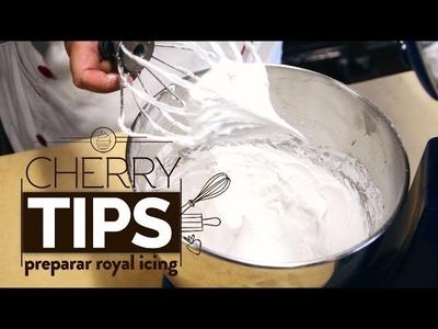 Cherry Tip como Preparar Royal Icing