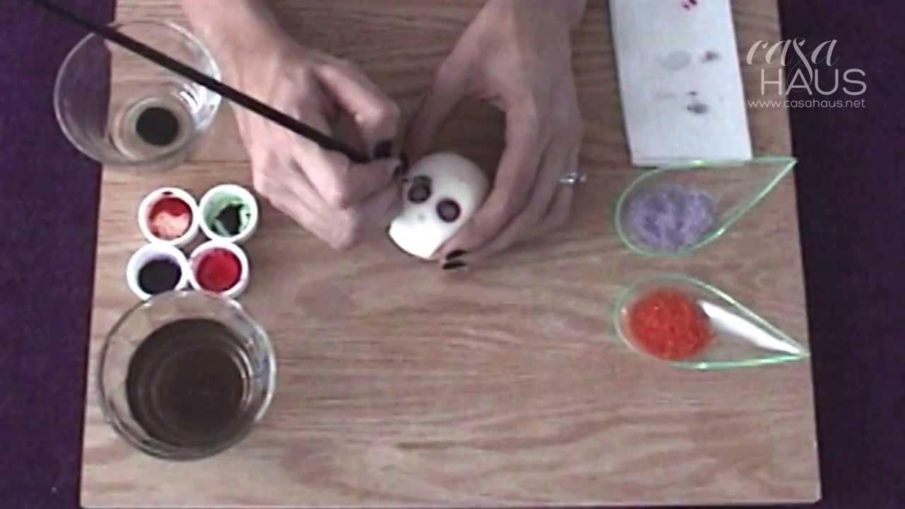 Cómo hacer calaveritas de azúcar sin molde