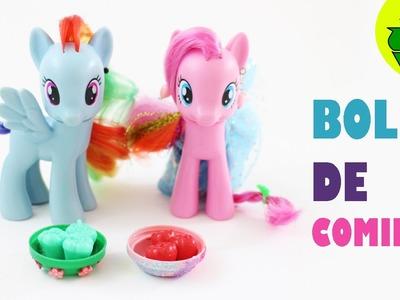Cómo hacer tazones, bols  o platos para tus LPS y MLP - Manualidades para muñecas