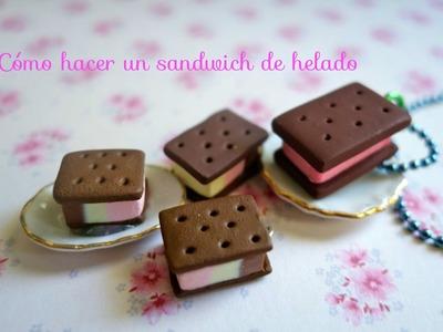 Cómo hacer un sandwich de helado (Muy fácil de hacer)