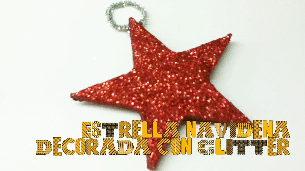 Cómo hacer una estrella para decorar tu árbol de navidad