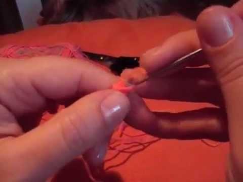 Cordón de ganchillo
