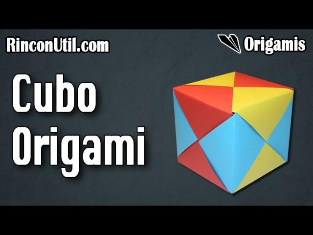Cubo de Papel | Origami 3D Fácil