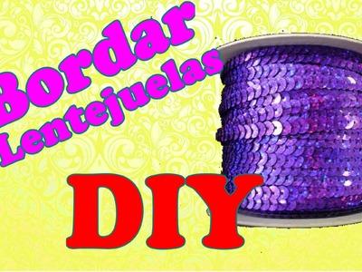DIY- Decora con tiras de lentejuelas