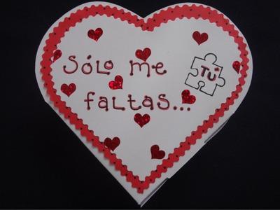 """Episodio 14 """"Caja para regalos en San Valentín"""""""
