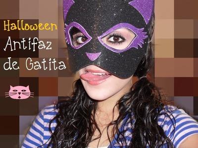 HALLOWEEN: Antifaz de Gatita