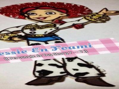 Jessie En Foami (( Personajes De Toy Story 7 -- 8 ))