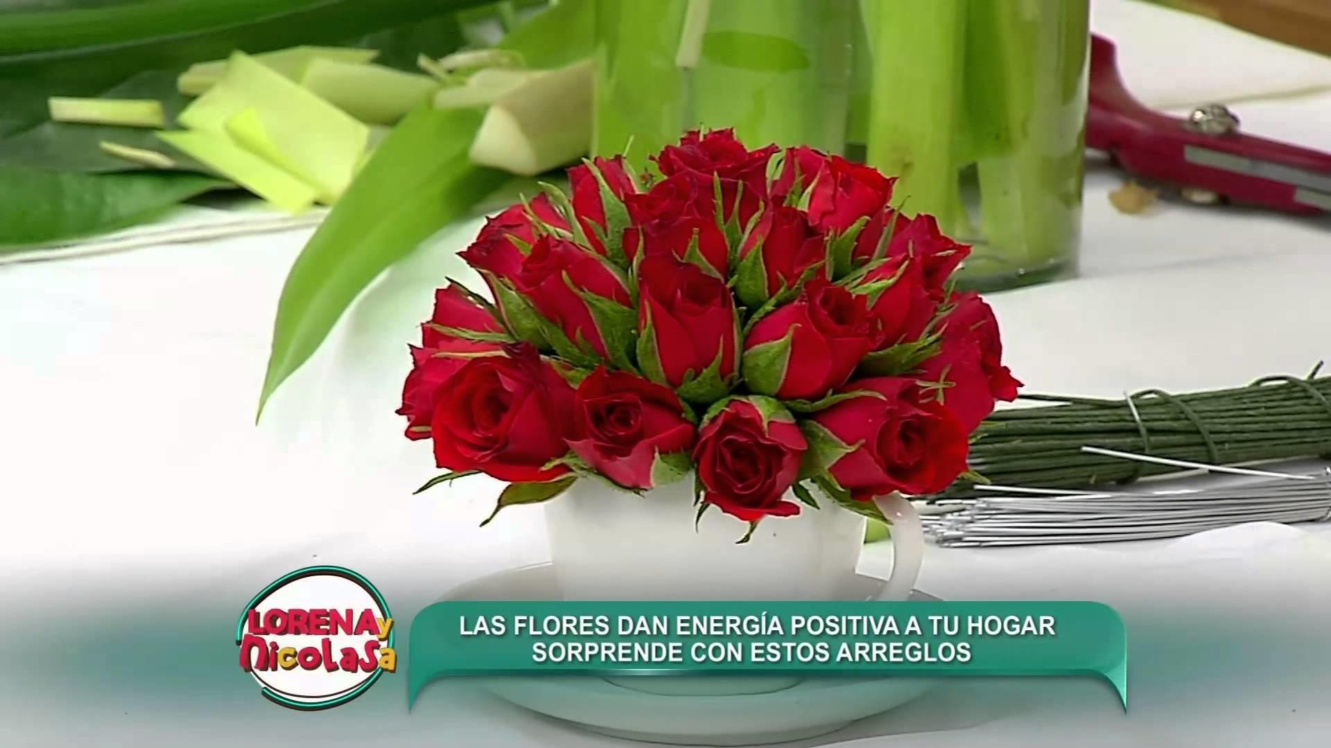 Lorena y Nicolasa: sepa cómo hacer arreglos florales para decorar su hogar