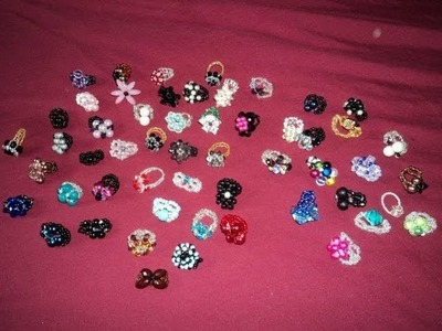 Mis anillos, de Bisuteria. .hechos x Mi