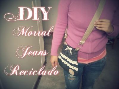 Morral con jeans reciclado. Novedadescon katherine ♥