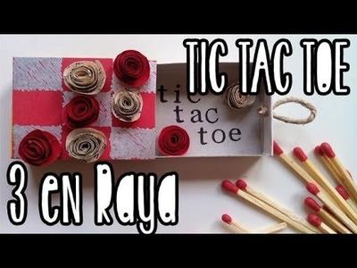 Pocket TIC TAC TOE: 3 en Raya de bolsillo con caja de Cerillas