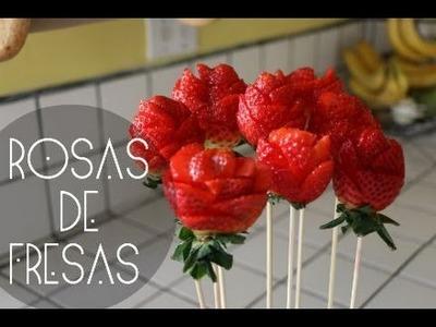 ROSAS DE FRESAS! (San Valentin)