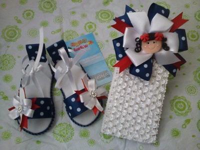 Sandalias en Fomi para bebé - Solo diseños o ideas