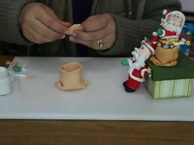 Santa Claus con su costal de regalos