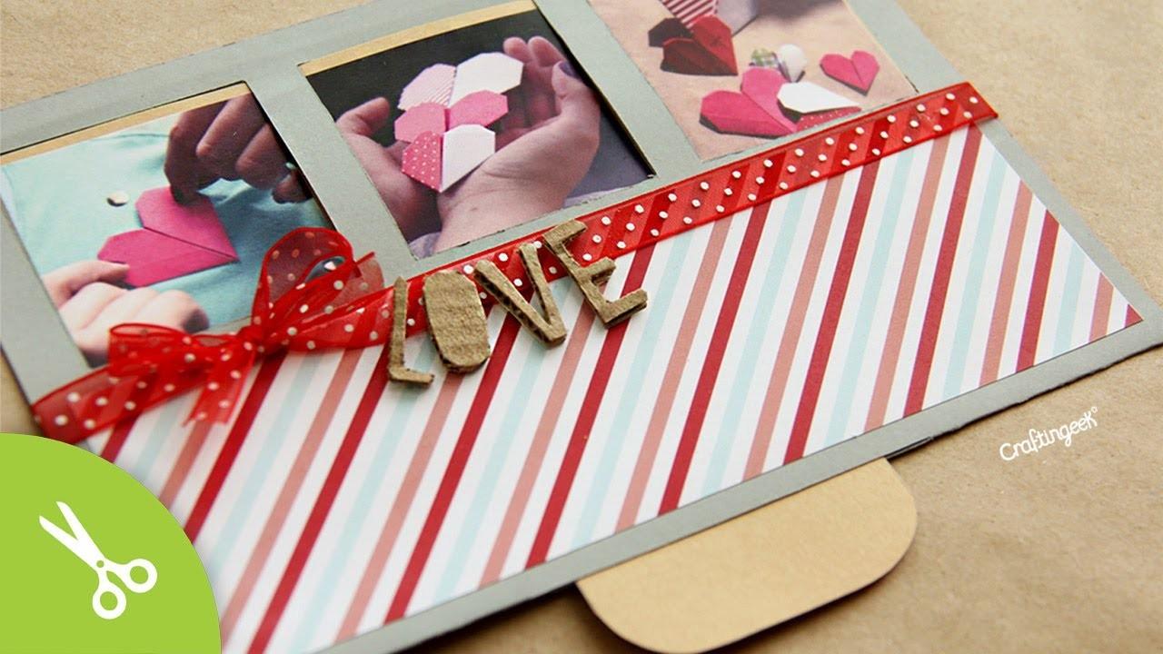 Tarjeta San Valentin * Surprise Slide *. Valentines Cards