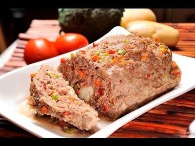 Pastel o rollo de carne - Meatloaf
