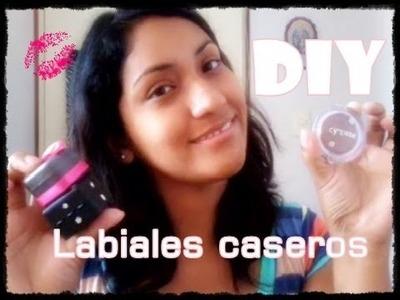 DIY labiales caseros. Fácil.katt♥