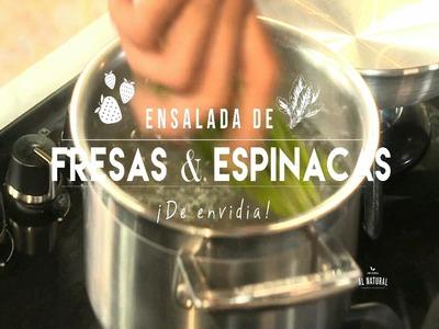 Chef Oropeza Al Natural: Ensalada de Fresas