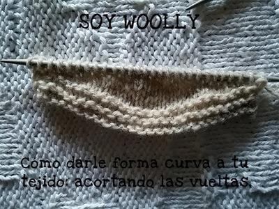 Cómo darle forma al tejido: acortar las vueltas Clase 72 Soy Woolly