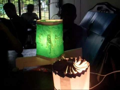 Proyecto Lámpara Giratoria