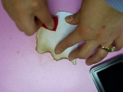 Técnica: Terminado de orillas de papel