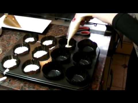 Cupcake de Oreo Receta