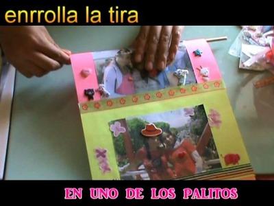 Agradecimientos+¿Cómo Se Enrrollan Las Fotografias (álbum+Portarretrato móvil)?