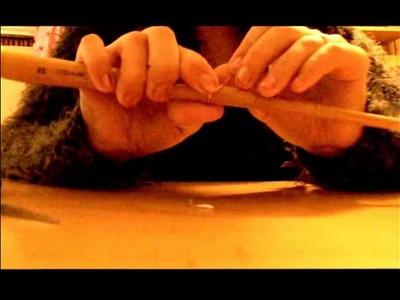 Anillo de alambre y fieltro (tutorial)